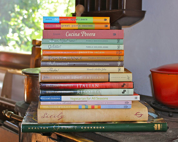 Italian Cookbooks by Pamela Sheldon Johns