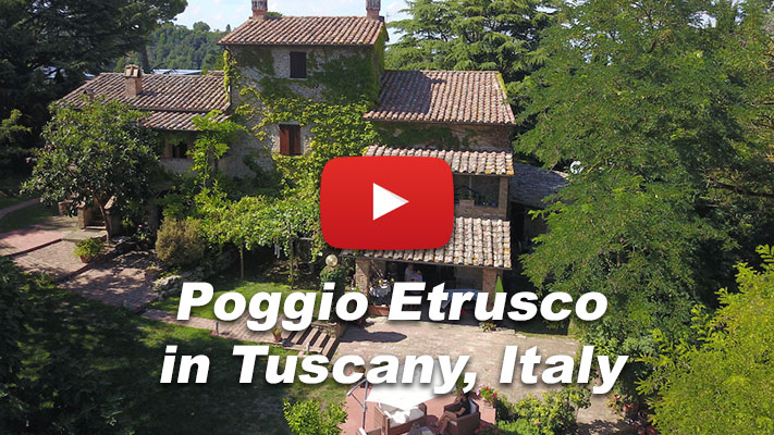 A Bed & Breakfast in Tuscany: Poggio Etrusco, Tuscan Holiday