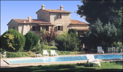 Tuscan Bed & Breakfast swimming pool