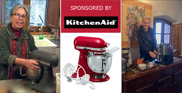 Pamela Sheldon Johns is sponsored by Kitchenaid